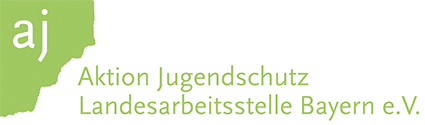 Materialien der Aktion Jugendschutz Bayern-Logo
